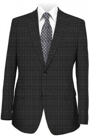 Varvatos Gray Pattern Slim Fit Suit #2345E