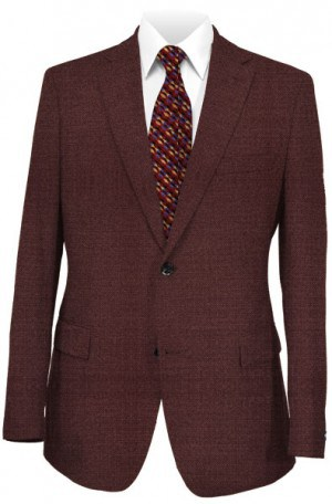 Rubin Burgundy Tailored Fit Sportcoat #23719
