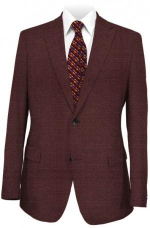 Rubin Burgundy Tailored Fit Sportcoat 23719