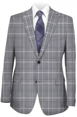 Paul Betenly Light Gray Sportcoat #251006