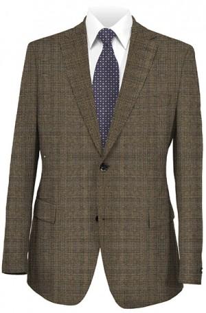 Abboud Brown Check Gentleman's Fit Sportcoat 25105-2B.