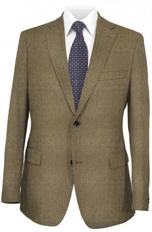 Petrocelli Tan Herringbone Sportcoat 25300
