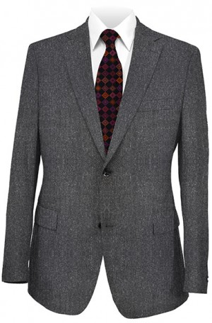 Calvin Klein Gray Donegal Slim Fit Suit #25FY8150