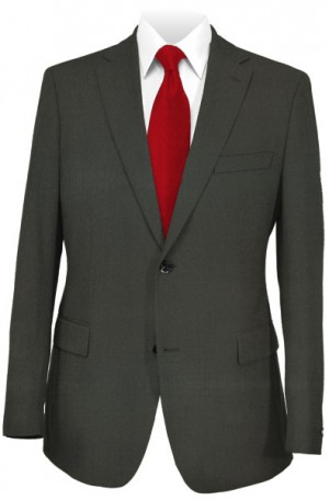 Calvin Klein Charcoal Tailored Fit Suit #25GX1398