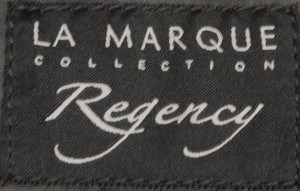 Regency La Marque Black Leather