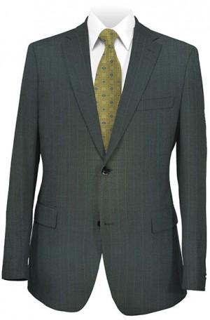 Petrocelli Gray Pinstripe Suit 29518