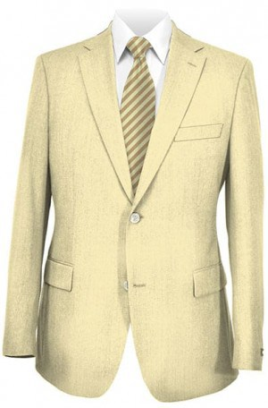 Ralph Lauren Tan Linen Tailored Fit Sportcoat #2BLX006