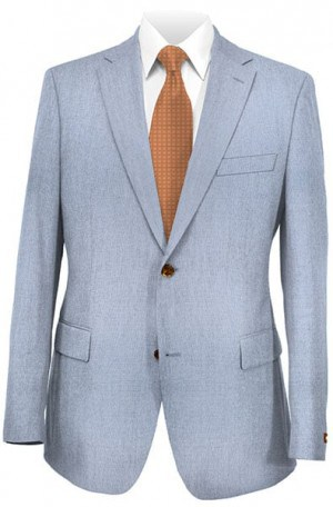 Ralph Lauren Light Blue Linen Tailored Fit Sportcoat #2BXL002