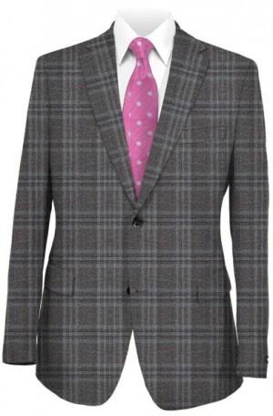 Ralph Lauren Ultraflex Gray & Blue Tailored Fit Sportcoat #2DX1625