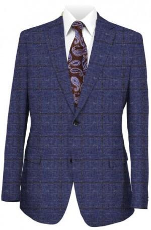 Ralph Lauren Ultraflex Blue Pattern Tailored Fit Sportcoat #2FA0040