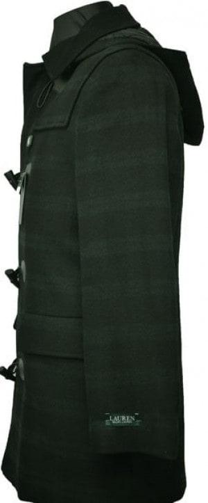 Ralph Lauren Black Watch Stadium Coat #2IS0012