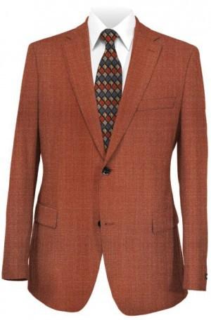 Betenly Rust Solid Color Sportcoat #2JS72050