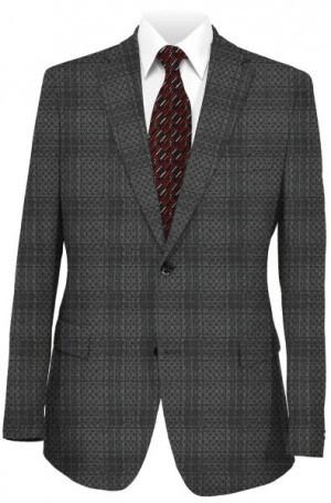 Betenly Black Pattern Sportcoat #2JS72067