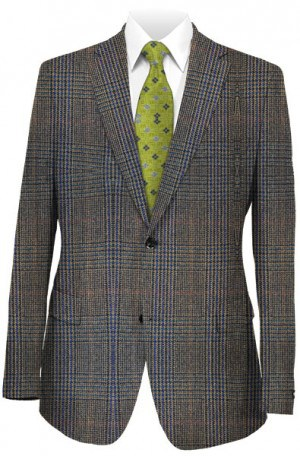 Ralph Lauren Brown Plaid Gentleman's Fit Sportcoat #2PX0857