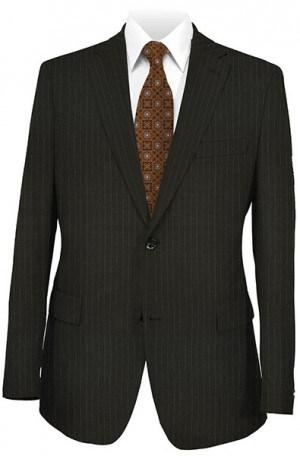 Joseph Abboud Black Pinstripe Suit #302995