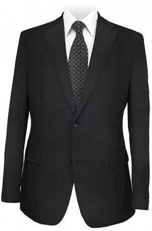 Betenly Black Pattern Tailored Fit Suit #32025