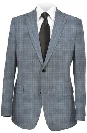 Petrocelli Blue Pattern Gentleman's Fit Sportcoat #33017