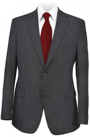 Jack Victor Black Tonal Stripe Suit 331802