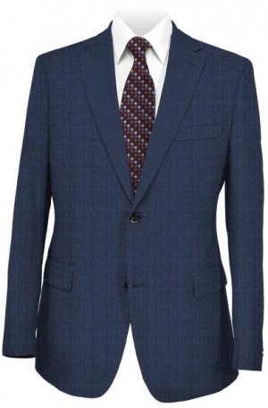 Pal Zileri Blue Pattern Tailored Fit Suit 33513-07