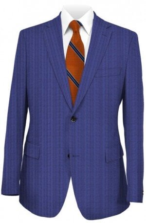 Pal Zileri Blue Stripe Tailored Fit Suit #33553-07