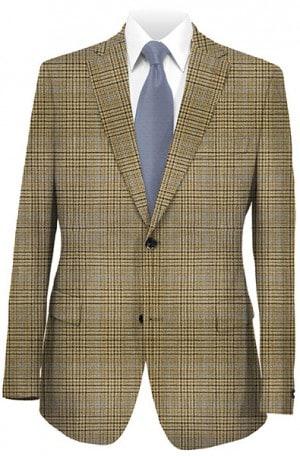 Hart Schaffner Marx Brown Plaid Gentleman's Fit Sportcoat #339-401800