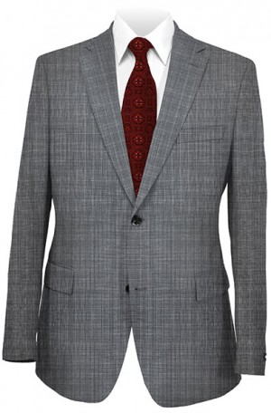 Jack Victor Gray Check Suit 341420