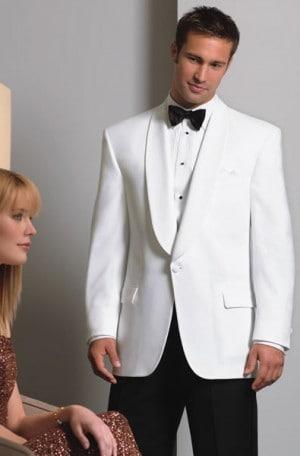 White Dinner Jacket #367C