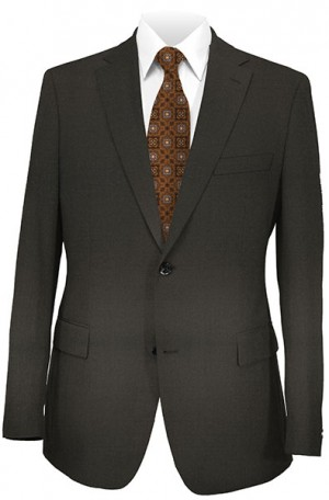 Jack Victor Black Suit with Pleated Slacks 39328