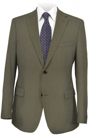 Michael Kors Taupe Tailored Fit Suit #3LX0012