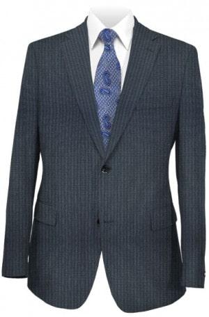 Rubin Blue Stripe Slim Fit Suit 45176