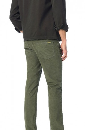 Joe's Hunter Green Corduroy Twill Jeans #45KA7BKC8225-HRG