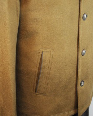 International Laundry Camel Tan Cashmere Blend Coat #4806-CML