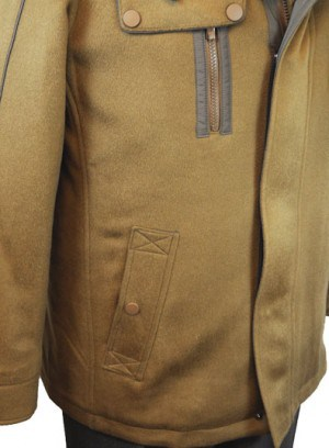 International Laundry Camel Tan Cashmere Car Coat #4809-CML