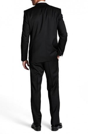 HUGO BOSS Black Solid Color TUXEDOS 50123820-001