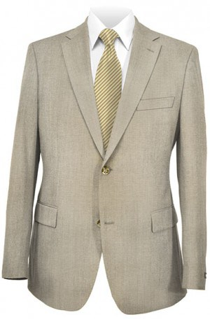 Hugo Boss Tan Solid Color Gentleman's Cut Suit #50128751-260