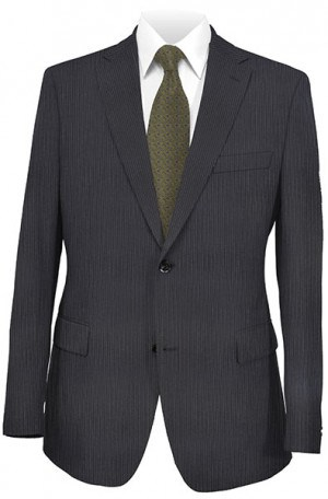 Hugo Boss Navy Fineline Gentleman's Cut Suit #50189726-401