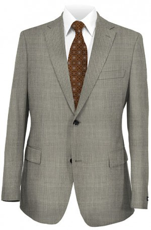Hugo Boss Gray Mini-Check Gentleman's Cut Suit #50200221-030