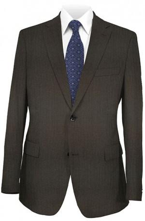 Hugo Boss Dark Brown Fineline Gentleman's Cut Suit #50201753-201