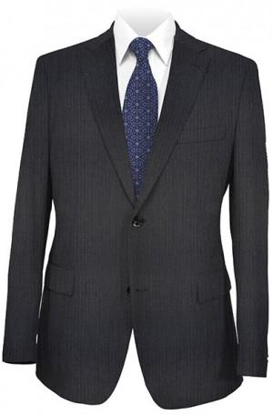 Hugo Boss Navy Herringbone Classic Fit Suit 50208114-021
