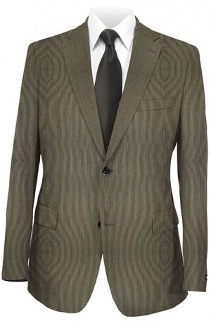 Hugo Boss Brown 'Stripe' Gentleman's Fit Suit #50209282-201
