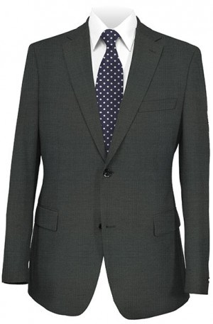 Hugo Boss Gray Fine Check Gentleman's Cut Suit #50220429-021
