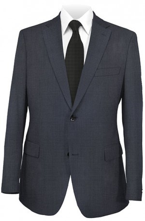Hugo Boss Navy Check Gentleman's Cut Suit #50220429-410