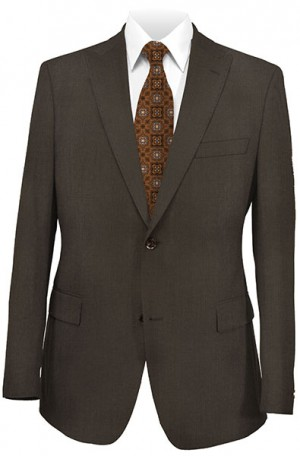 Hugo Boss Brown Mini-Check Tailored Fit Suit #50230374-201