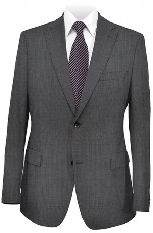 Hugo Boss Black Micro-Check Tailored Fit Suit #50241622-001