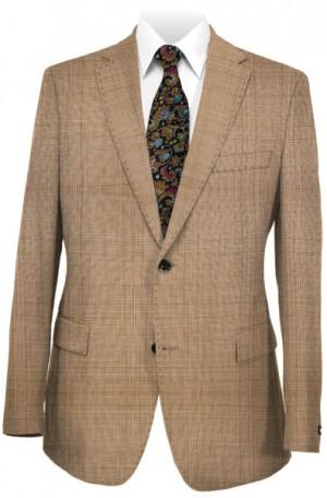 Hugo Boss Tan Pattern Tailored Fit Suit #50241680-260