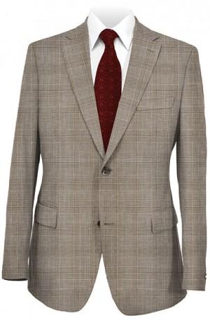 Hugo Boss Tan Plaid Tailored Fit Sportcoat #50241969-240