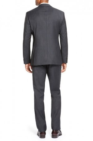 Hugo Boss Black Pattern Tailored Fit Suit #50251384-001