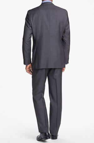 Hugo Boss Taupe Herringbone Gentleman's Cut Suit #50251385-240