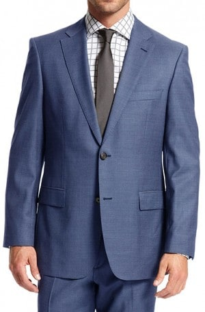 Hugo Boss Blue Solid Color Gentleman's Cut Suit #50262968-430