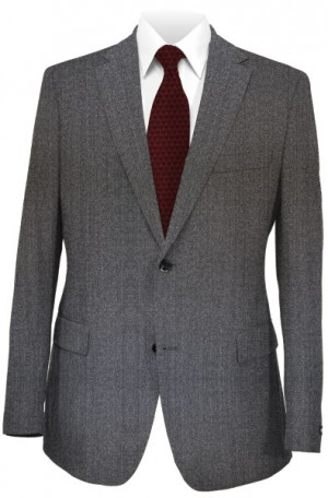 Hugo Boss Gray Twill Tailored Fit Suit #5030044-030